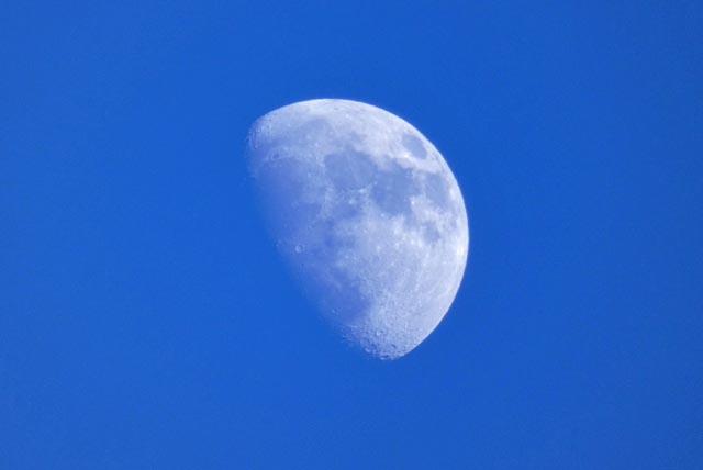 旧暦11月11日の上弦の月: きたき...