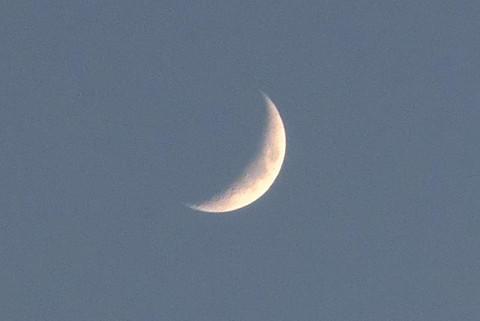 月齢4日の月